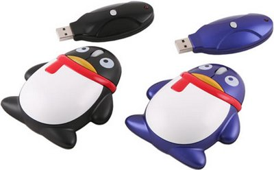 mouse pinguim